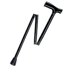 Buy Lightweight Adjustable Folding Cane with T Handle online used to treat Canes - Medical Conditions