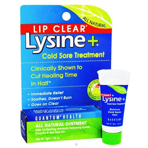 Buy Lip Clear Lysine+ Cold Sore Treatment by Quantum from a SDVOSB | Over the Counter Drugs