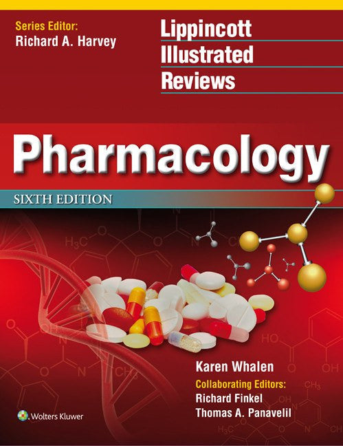 Pharmacology 6th Edition, Lippincott Illustrated Reviews Softbound Book - Hospitals - Mountainside Medical Equipment