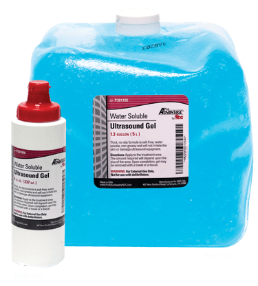 Ultrasound Gel 1.3 Gallon with Empty Squeeze Bottle - Ultrasound Gel - Mountainside Medical Equipment