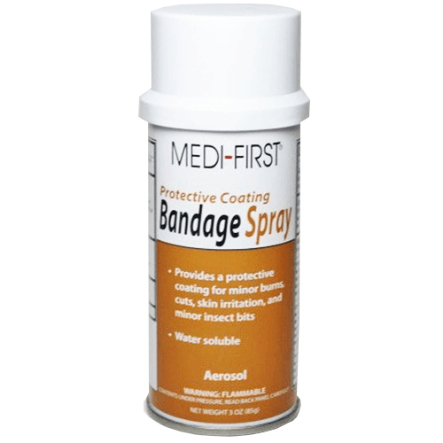 Protective Liquid Bandage Spray for Adhesive Bandages by Medique | Medical Supplies