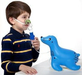 Buy Sami the Seal Pediatric Kids Nebulizer Machine with Mask online used to treat Nebulizer Machines - Medical Conditions