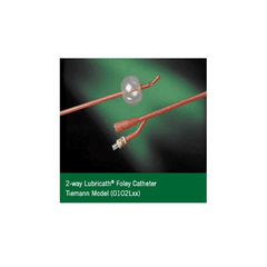Buy Lubricath Red Rubber Urethral Catheter by Bard Medical | SDVOSB - Mountainside Medical Equipment