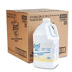 Buy Lysol Brand I.C. Quaternary Disinfectant Cleaner - Gallon Bottle by Lysol from a SDVOSB | Disinfectant Solution