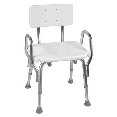 Mabis Bath Shower Chair with Backrest for Shower Chairs by Briggs Healthcare/Mabis DMI | Medical Supplies