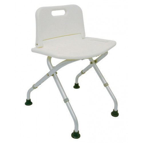 Buy Folding Shower Chair Seat with Backrest online used to treat Shower Chairs - Medical Conditions