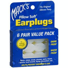 Buy Adult Pillow Soft Ear Plugs by Macks products | Home Medical Supplies Online