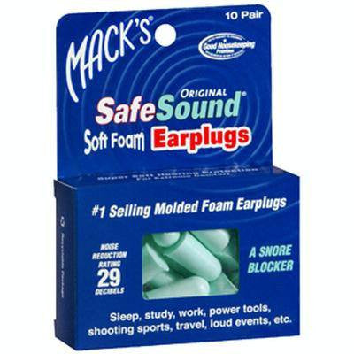 Buy SafeSound Soft Ear Plugs (10 Pair) by Macks products wholesale bulk | Ear Supplies