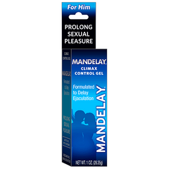 Buy Mandelay Climax Control Sexual Enhancement Gel by Majestic Drug Company from a SDVOSB | Contraceptives