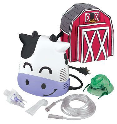 Margo Moo Cow Nebulizer Machine for Kids for Pediatric Nebulizers by Duromed | Medical Supplies