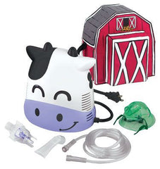 Buy Margo Moo Cow Nebulizer Machine for Kids by Duromed from a SDVOSB | Pediatric Nebulizers