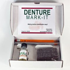 Buy Denture Marking Kit (Identure Denture Marking System) by Geri Products from a SDVOSB | Denture Labeling Kit