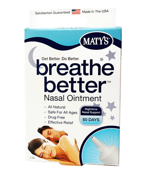 Buy Breathe Better Nasal Ointment, 0.5 oz online used to treat Insomnia - Medical Conditions