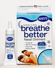 Buy Breathe Better Nasal Ointment, 0.5 oz used for Insomnia by Maty's Healthy Products