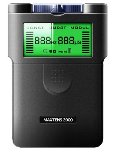 Maxtens 2000 Digital TENS Machine, Dual Channel, 3 Modes - Tens Machine - Mountainside Medical Equipment