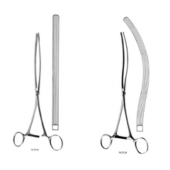 Buy Mayo Robson Intestinal Forceps by Integra Lifesciences from a SDVOSB | Surgical Instruments