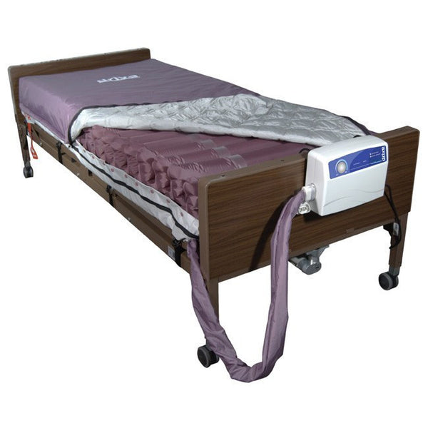 Med-Aire Alternating Pressure Mattress System with Low Air Loss