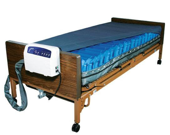Med-Aire Plus Alternating Pressure Low Air Loss Mattress System - Alternating Pressure Mattress - Mountainside Medical Equipment