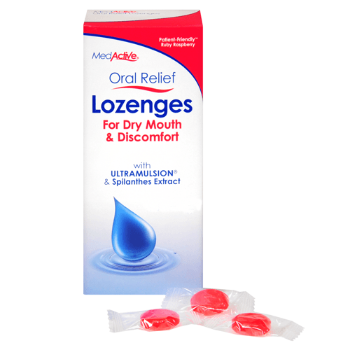 Buy MedActive Dry Mouth Relief Lozenges, Super Mix by MedActive wholesale bulk | Dry Mouth Treatment