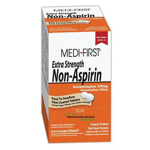 Buy Acetaminophen Extra Strength 500 mg Unit Dose by Medique from a SDVOSB | Pain Relievers