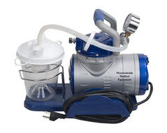 Heavy Duty Suction Machine with Accessories for Suction Machines by Drive Medical | Medical Supplies