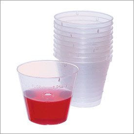 Buy Plastic Medicine Cups 1 oz (100/sleeve) by Dynarex wholesale bulk | Medication Dispenser