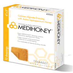 Medihoney Calcium Alginate Dressings for Wound Care by Derma Sciences | Medical Supplies