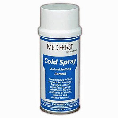 Pain Ease Cold Topical Skin Refrigerant Spray - Hot & Cold Packs - Mountainside Medical Equipment