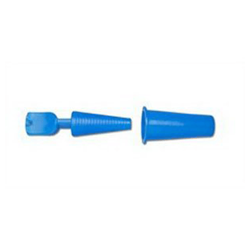Buy Blue Catheter Plug with Drain Tube Cover online used to treat Catheter Plug - Medical Conditions