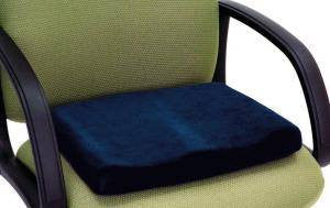 Memory Sculpture Comfort Seat Cushion for Wheelchair Cushions by Essential Medical Supply | Medical Supplies