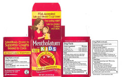 Buy Mentholatum For Kids Topical Cherry Scented Rub 1.76 oz by Mentholatum Company from a SDVOSB | Cold Medicine