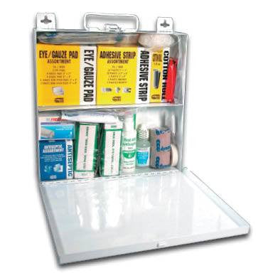 Buy Metal First Aid Kit 50 Person by FieldTex from a SDVOSB | First Aid Supplies