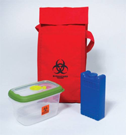 Mini Blood Specimen Transport System - Specimen Collector - Mountainside Medical Equipment