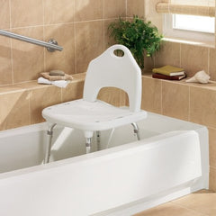 Buy Moen Glacier Shower Chair by Moen Home Care Products from a SDVOSB | Shower Chairs