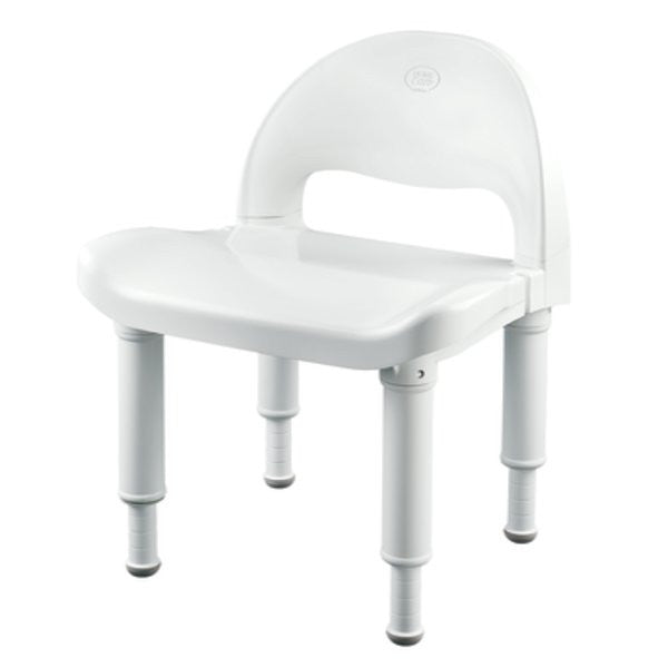 Moen Glacier Shower Chair with Backrest DN7064 for Shower Chairs by Moen Home Care Products | Medical Supplies