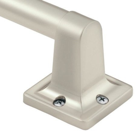 Buy Moen Bath Grip Grab Bar Satin Nickel Finish 9 inch LR2250SN online used to treat Decorative Grab Bars - Medical Conditions