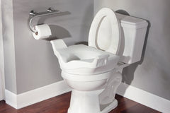 Buy Moen Raised Toilet Seat Elevator with Arms DN8070 by Moen Home Care Products from a SDVOSB | Bath Safety