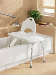 Buy Moen Bath Transfer Bench DN7065 by Moen Home Care Products | SDVOSB - Mountainside Medical Equipment
