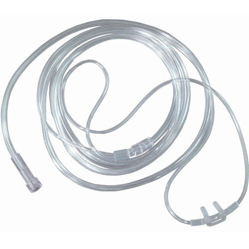 Buy Nasal Cannula with Flared Nasal Prongs with 7 Foot Tubing online used to treat Nasal Cannulas - Medical Conditions