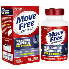 Buy Move Free Glucosamine Chondroitin MSM & Vitamin D3 online used to treat Joint Care - Medical Conditions