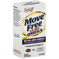 Buy Move Free Ultra Omega Joint Supplement with Omega-3 Krill Oil, 30 Count by Reckitt Benckiser from a SDVOSB | Joint Care