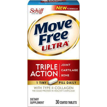 Move Free Ultra Triple Action Joint Cartilage & Bone with Collagen for Joint Care by Reckitt Benckiser | Medical Supplies