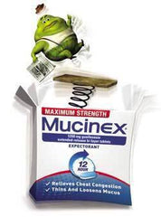 Buy Mucinex Chest Congestion 12-Hour Extended Release Bi-Layer Tablets online used to treat Cold Medicine - Medical Conditions