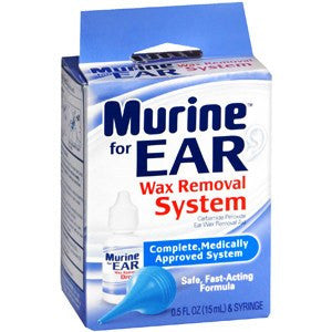 Buy Murine Ear Wax Removal System by Prestige Brands | SDVOSB - Mountainside Medical Equipment