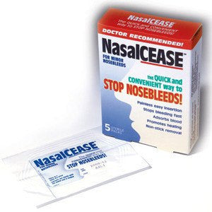 Nasalcease for Nosebleeds - 5 Each for First Aid Supplies by Catalina Healthcare | Medical Supplies