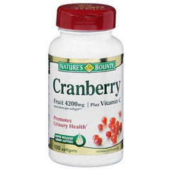 Nature's Bounty Cranberry Plus Vitamin C for Urinary Tract Infection by Nature's Bounty | Medical Supplies