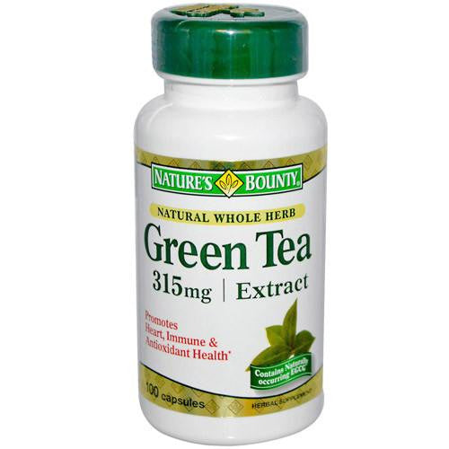 Buy Natures Bounty Green Tea Extract 315mg with Coupon Code from Nature
