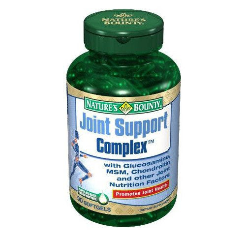 Buy Natures Bounty Joint Support Complex used for Vitamins, Minerals & Supplements by Nature