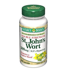 Buy Natures Bounty St Johns Wort 300mg 100 Capsules by Nature's Bounty online | Mountainside Medical Equipment