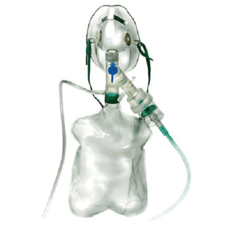 Buy Neb-U-Mask System for High Concentration Oxygen and Heliox online used to treat Nebulizer Kit - Medical Conditions